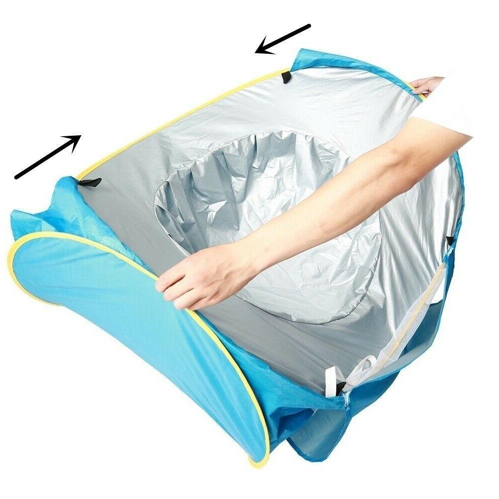 Beach Tent Umbrella Baby Protection