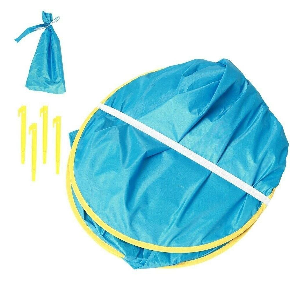 Beach Tent Camping Hiking Up Tent Protection Shelters Summer