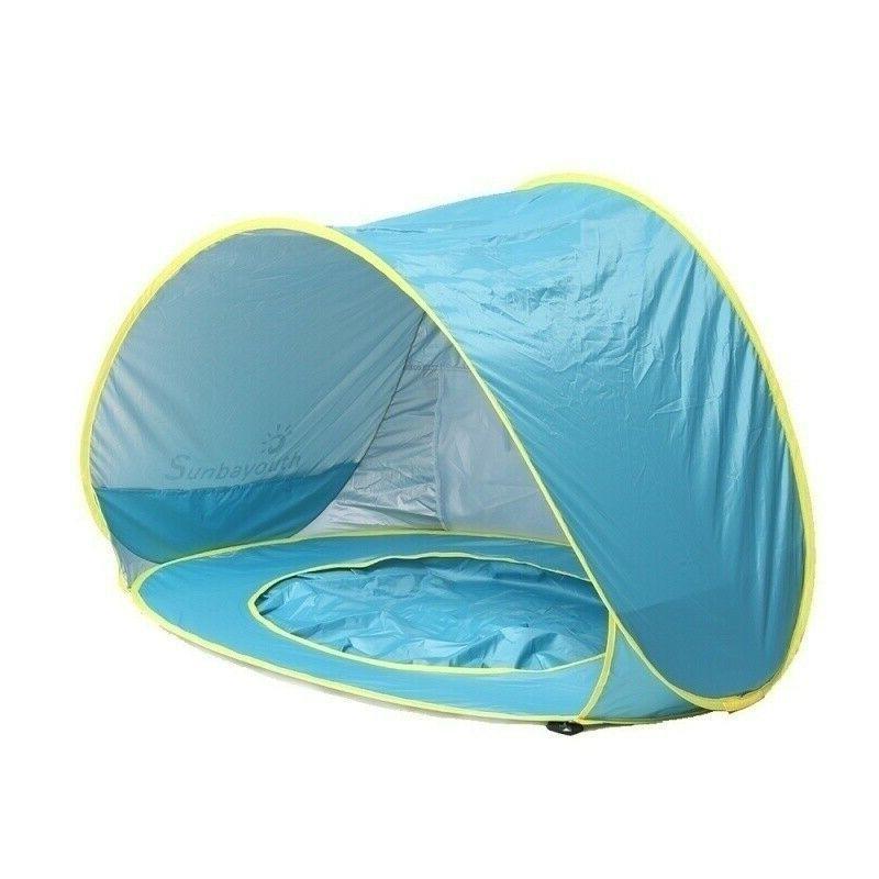 Beach Umbrella Camping Hiking Up Tent Protection