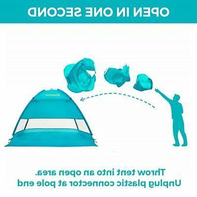 Beach Tent CoolHut Sun Shelter Instant Portable Cabana Shade