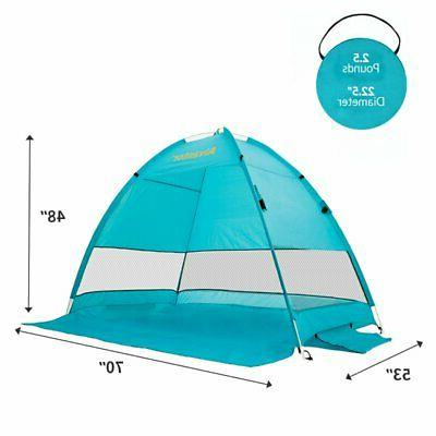 Beach Shelter Sun Shade Canopy Tent Beach Umbrella Camping H