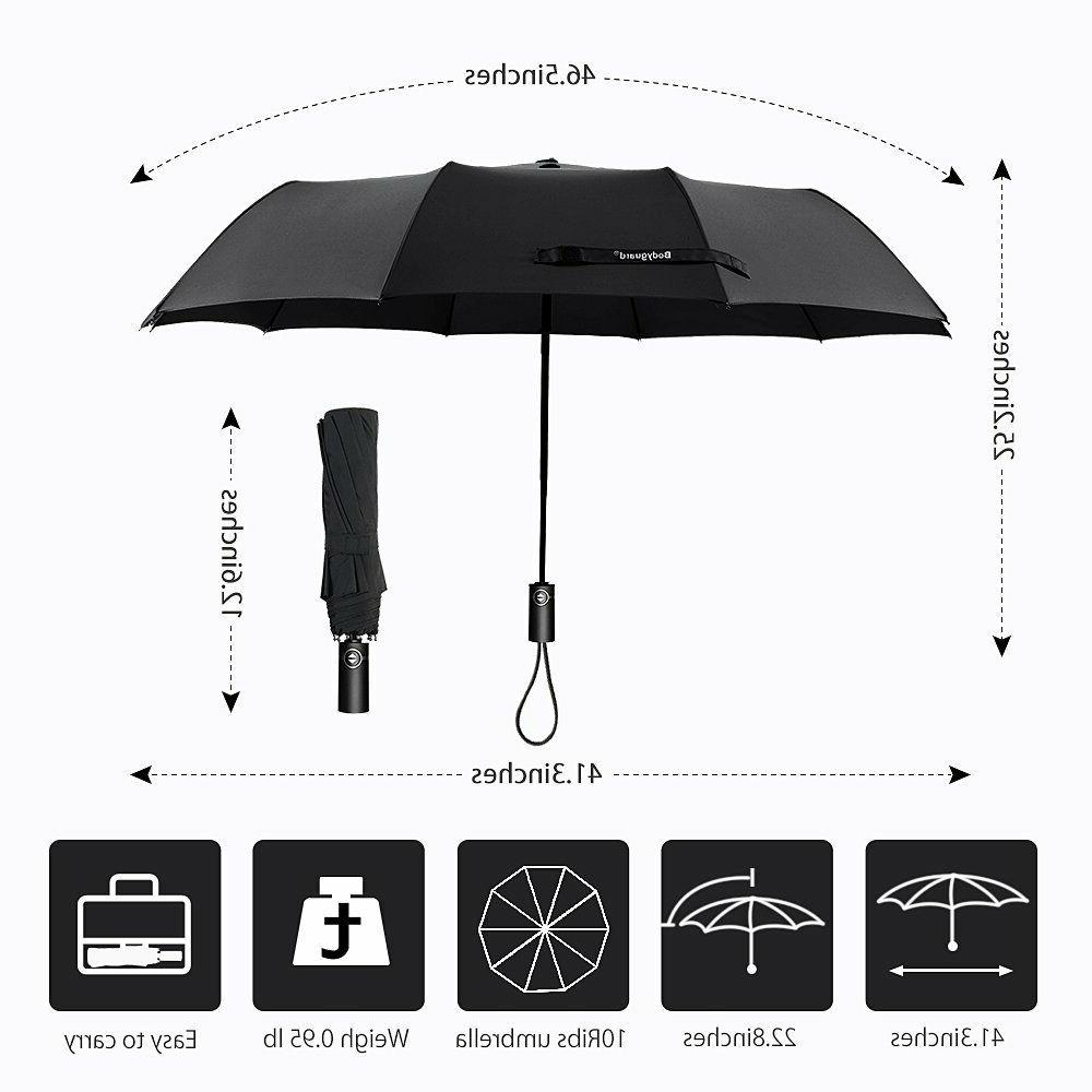 Bodyguard Umbrella, 10 Ribs Umbrella with Teflon Coating