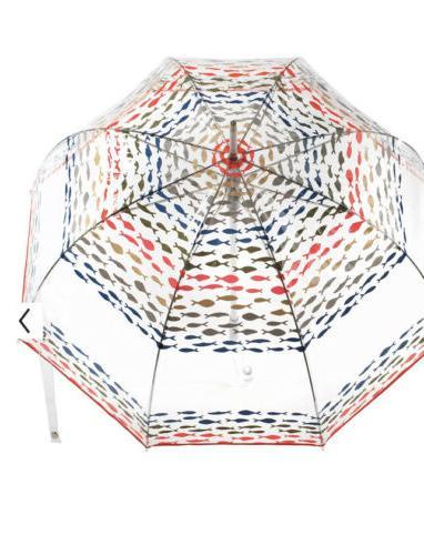 Totes Bubble Dome Transparent Fashion Fishies 51