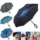 c handle double layer umbrella windproof folding