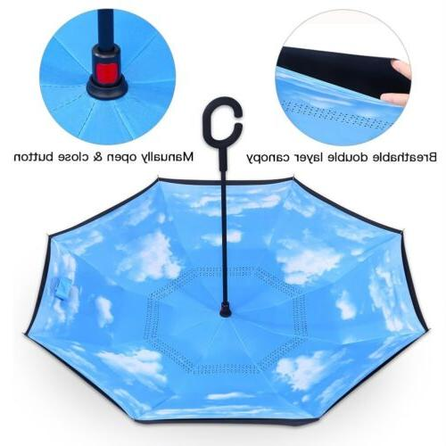 C-Handle Inverted Umbrella Double Down Reverse