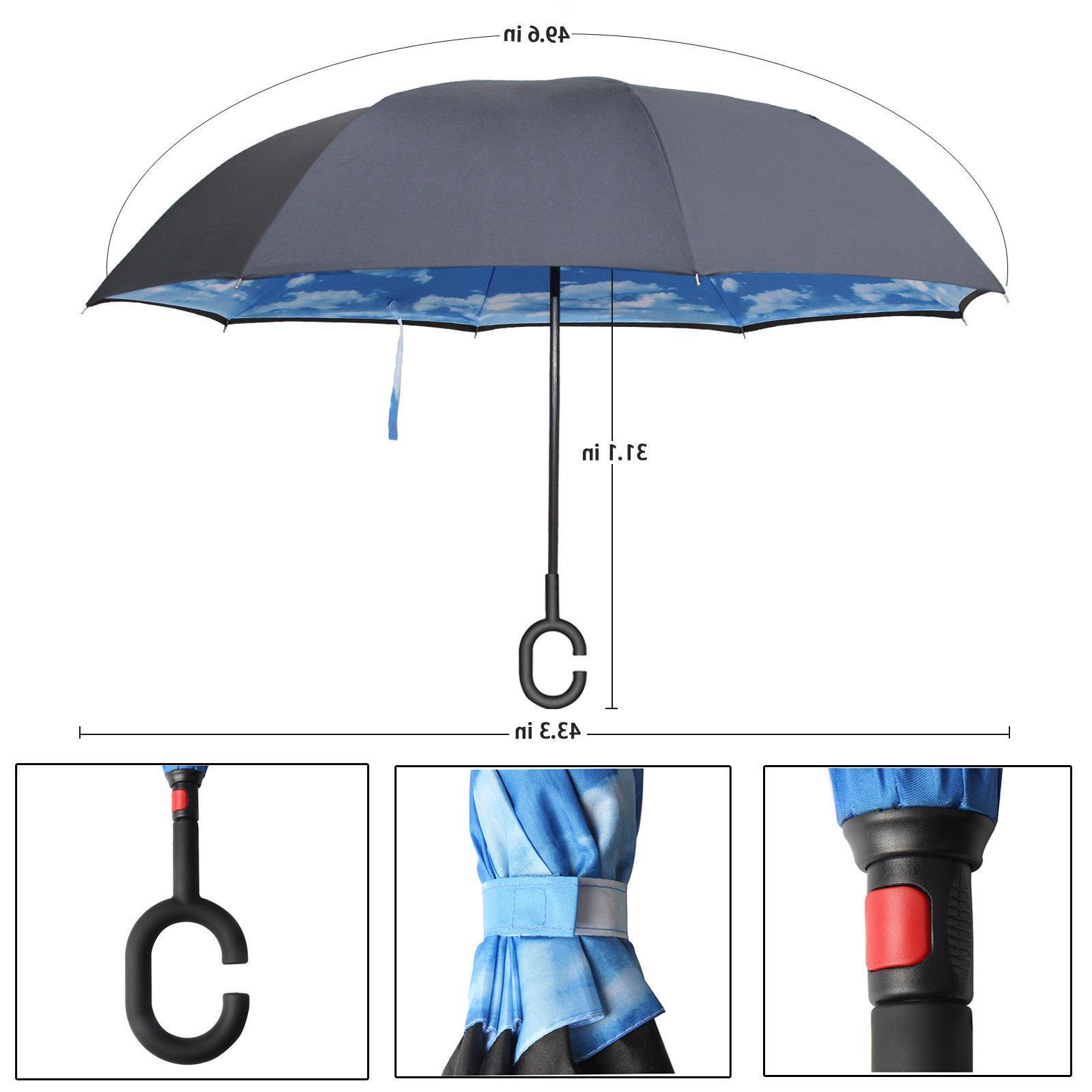 C-Handle Reverse Umbrella Layer Upside SUN/RAIN L