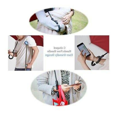 C-Hook Hands Reverse-Design Layer Umbrella Inverted