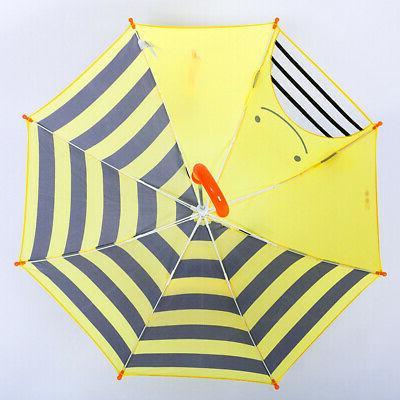 Cartoon Printed Umbrellas Children's Rain Umbrella