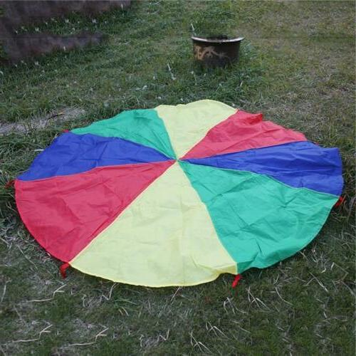 Kids Rainbow Parachute Outdoor Group Game HO3