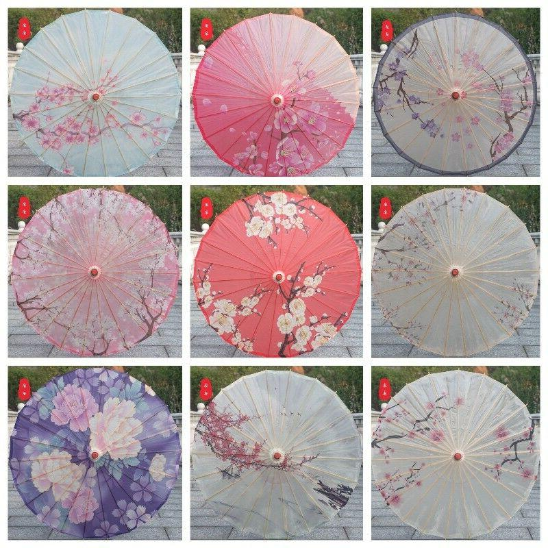 Chinese Style Art Oil Paper Umbrella Ceiling Decoration Clas