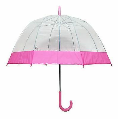 Clear Bubble Umbrella, Dome Shape Umbrella, through umbrella, clear