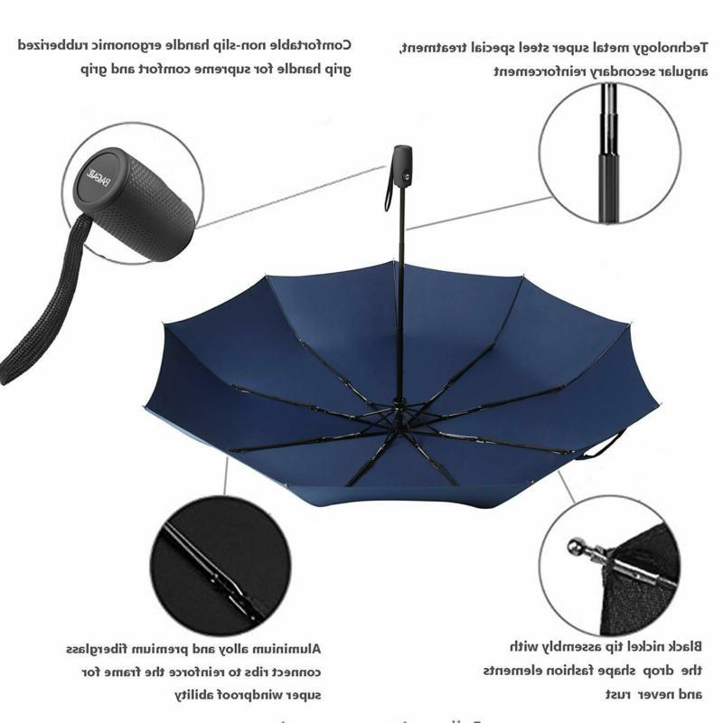 Bagail Auto Travel Umbrella Windproof With