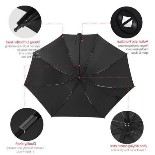 Compact Umbrella Folding Wind