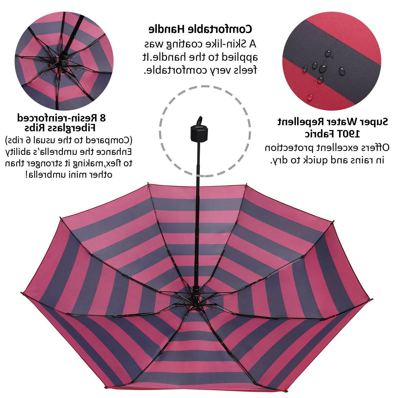 BAGAIL Compact Windproof Umbrella Mini