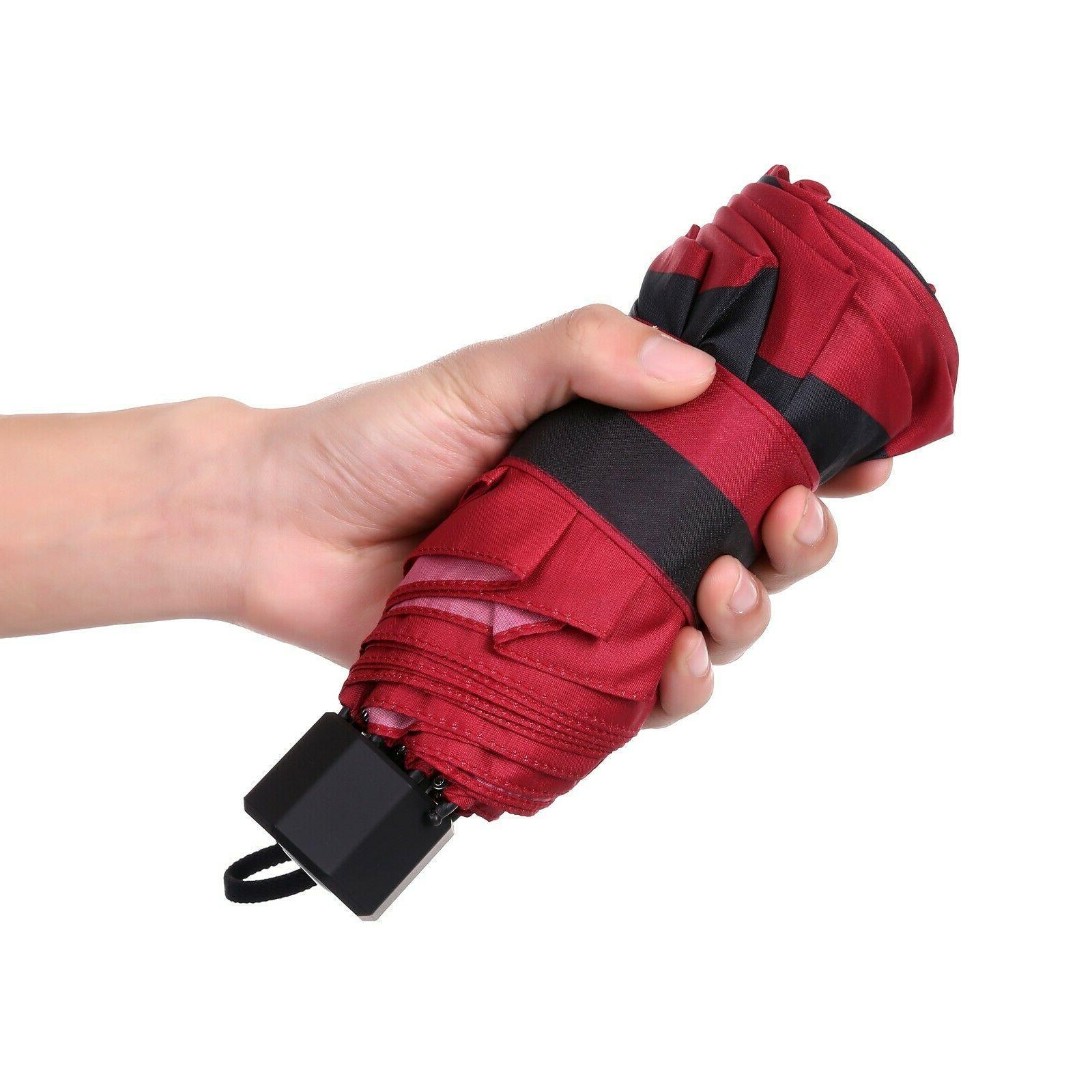 BAGAIL Compact Umbrella Windproof Travel Mini