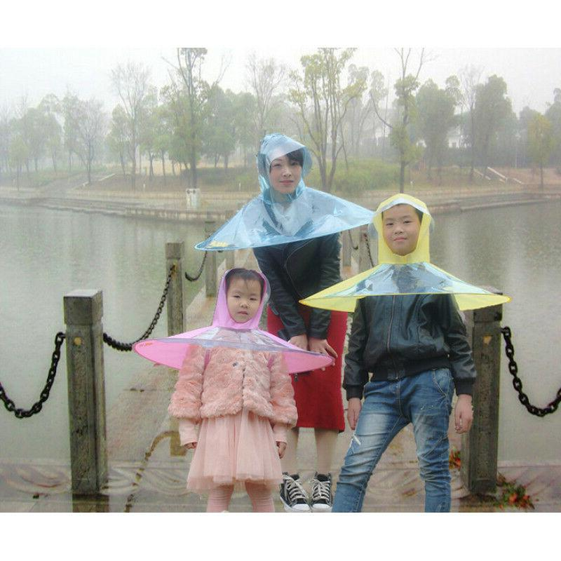 Creative Transparent Head Coat Fishing Golf Cover Child Adul