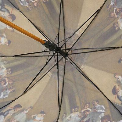 Galleria Degas Stick Umbrella Rain