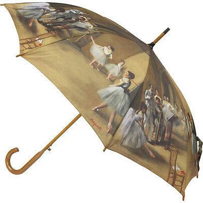 degas ballerinas auto stick umbrella umbrellas