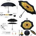 G4Free Double Layer Inverted Umbrella Cars Reverse Open Fold