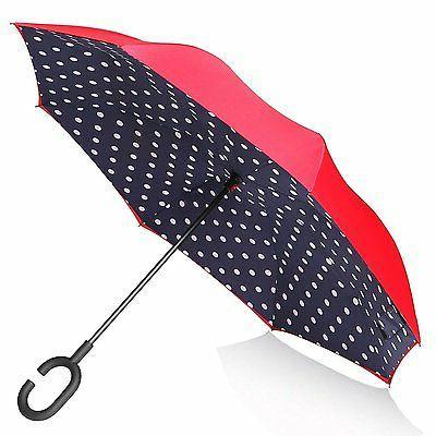 double layer inverted umbrella reverse