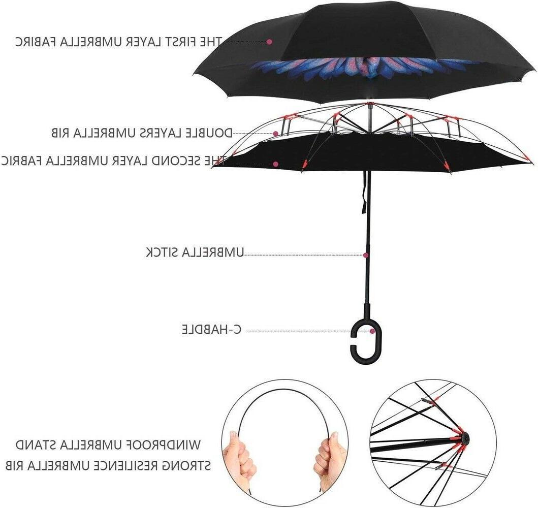 BAGAIL Folding Umbrella UV w/ C-Shaped