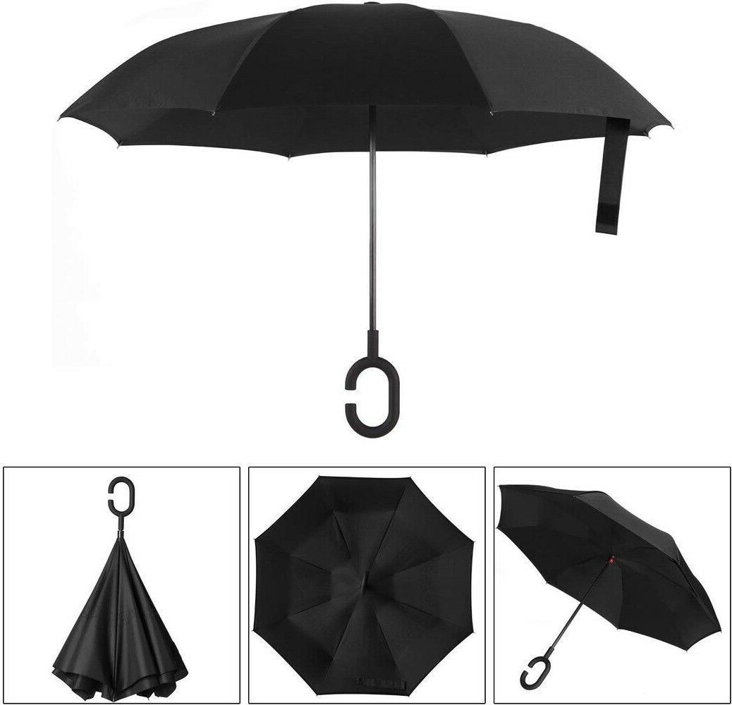 BAGAIL Reverse Folding Umbrella UV w/ C-Shaped