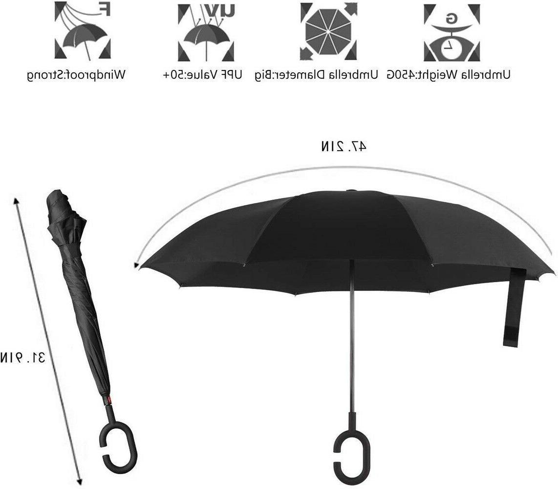 BAGAIL Folding Umbrella Windproof UV