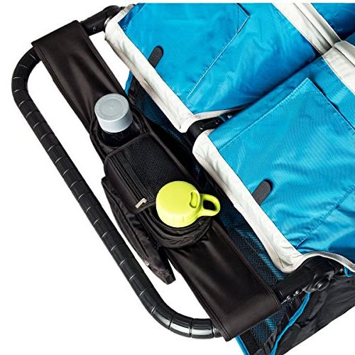 BEST DOUBLE STROLLER ORGANIZER for Smart Moms, Fits All Doub