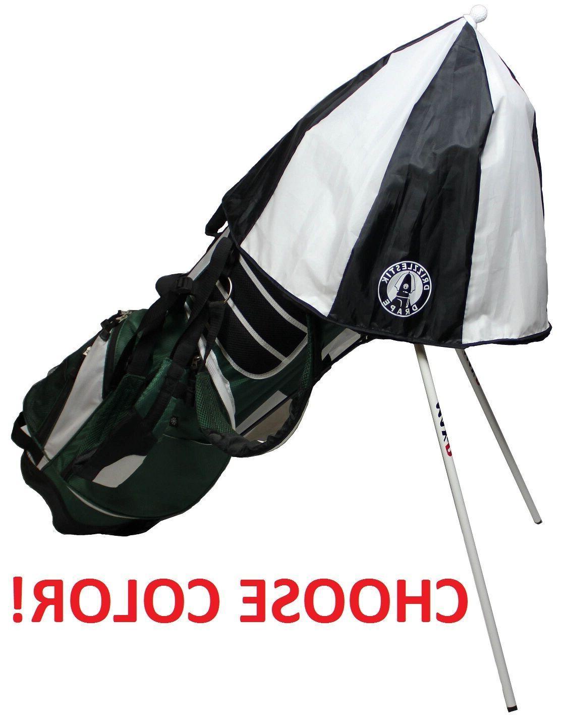 drape golf bag umbrella club rain cover