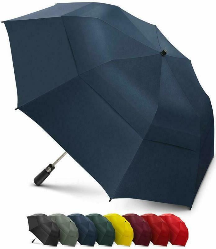 Eez Y 58 Inch Portable Golf Umbrella Large Windproof Double