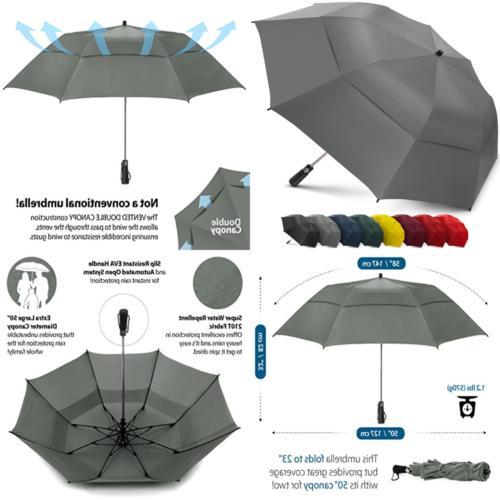 eez y 58 portable golf umbrella large
