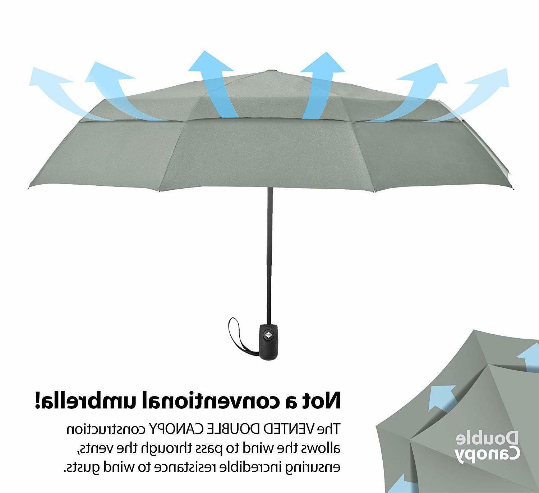 EEZ-Y Compact Umbrella with Auto Close Windproof