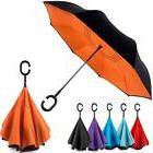 EEZ-Y Inverted Umbrella w/ Windproof Double Layer Constructi
