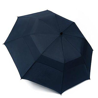 EEZ-Y Umbrellas Folding Golf 58-inch Large Windproof Double