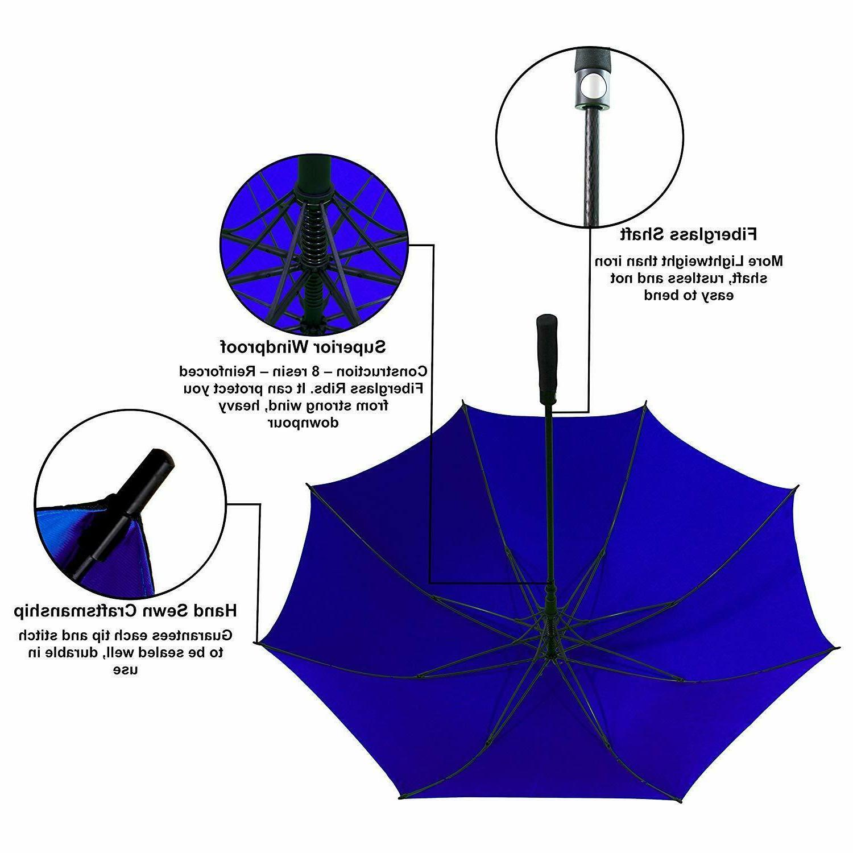 Extra Large Automatic Windproof Fiberglass