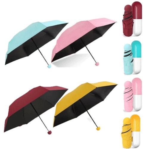 Folding Parasol Light Portable Small