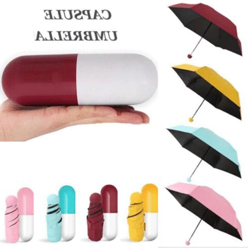 fashion mini umbrella compact folding travel parasol