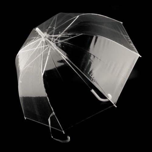 Fashion Transparent Male Rain Straight