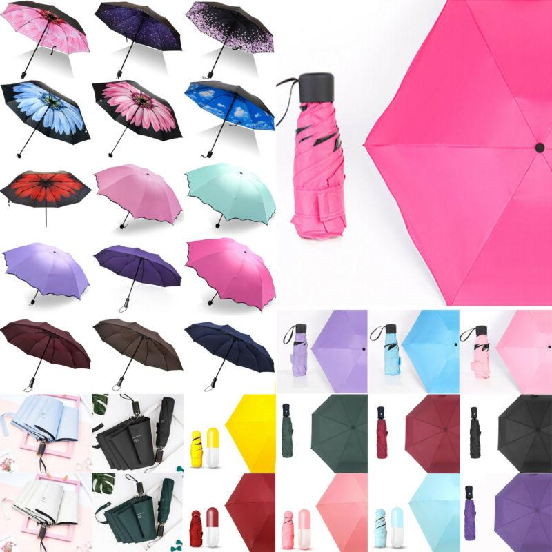 Folding Portable Waterproof Parasol