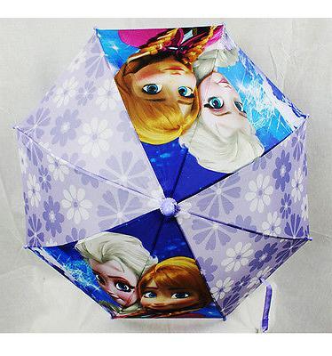 DISNEY FROZEN ELSA Handle UMBRELLA Rain Snow NEW!