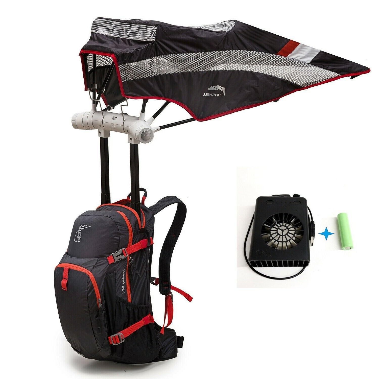 funshell 20l hiking backpack umbrella camping uv