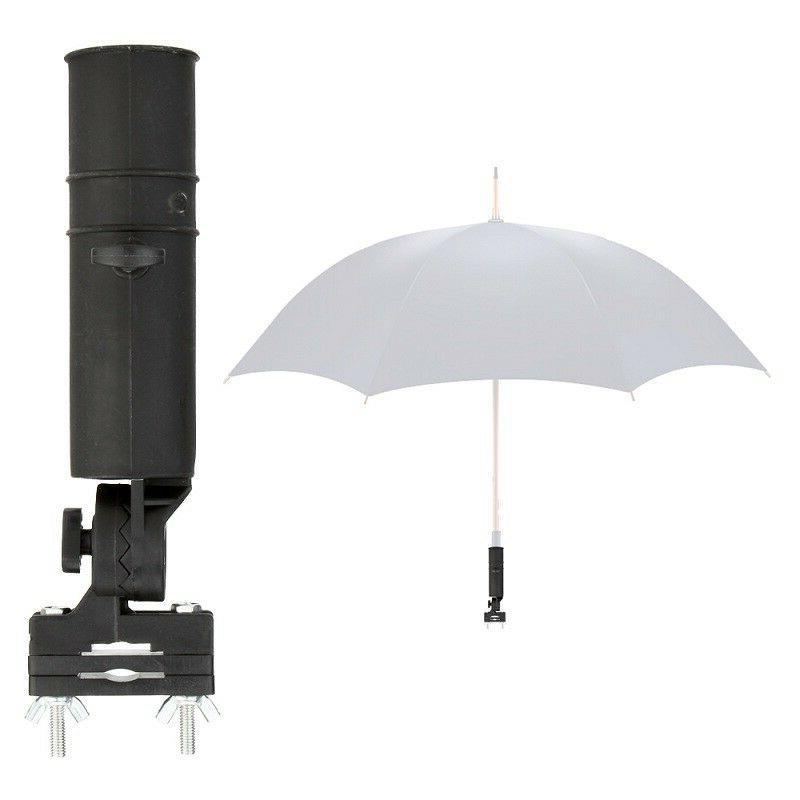 Golf Club Umbrella Holder Swivel For Fishing Trolley Pushcha