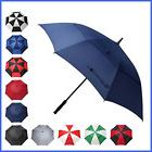 "BAGAIL Golf Umbrella 68"" LARGE Oversize Double Canopy NAVY 6"