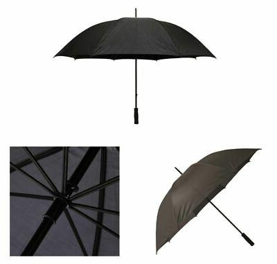 Firm Grip Golf Umbrella 5 ft. All Black Rain Gear Personal H