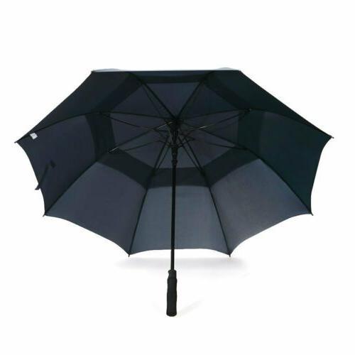 68'' Automatic Open Golf Umbrella Double
