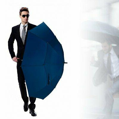 Golf Umbrella Windproof Extra Large 62 Inch Double Canopy Au