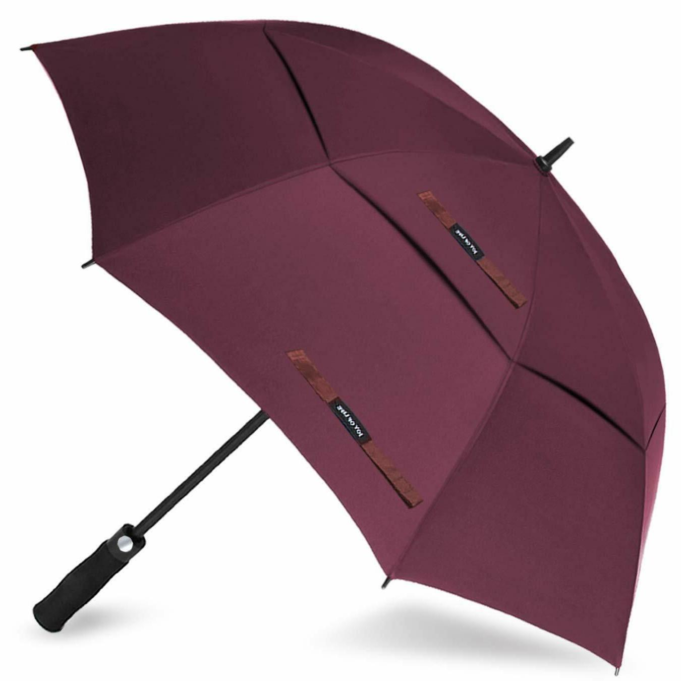 Golf Umbrella Windproof Imported Automatic Oversize Double C