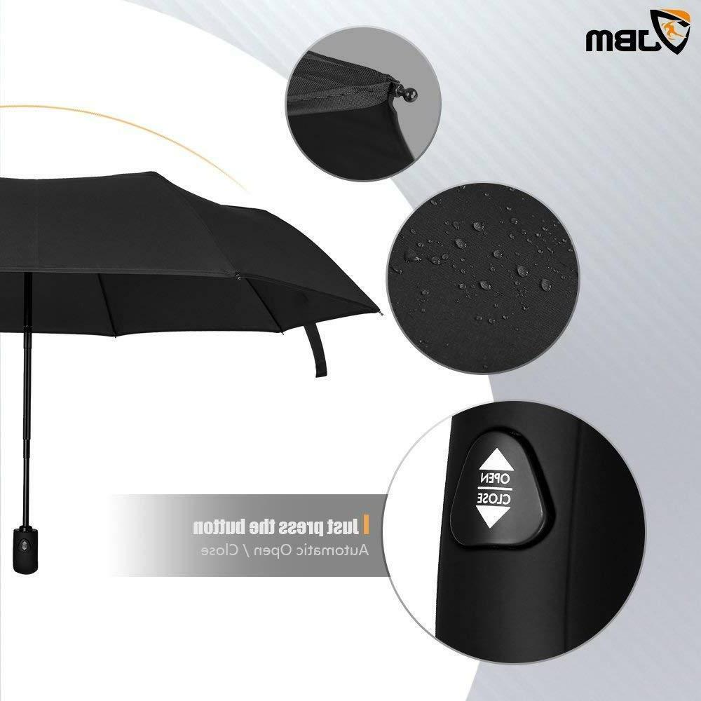 Golf Umbrella Windproof Large Double Canopy Vented Open - Storm