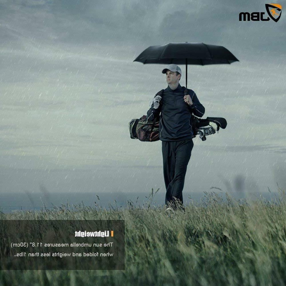 Golf Umbrella Large Double Vented Open - Storm