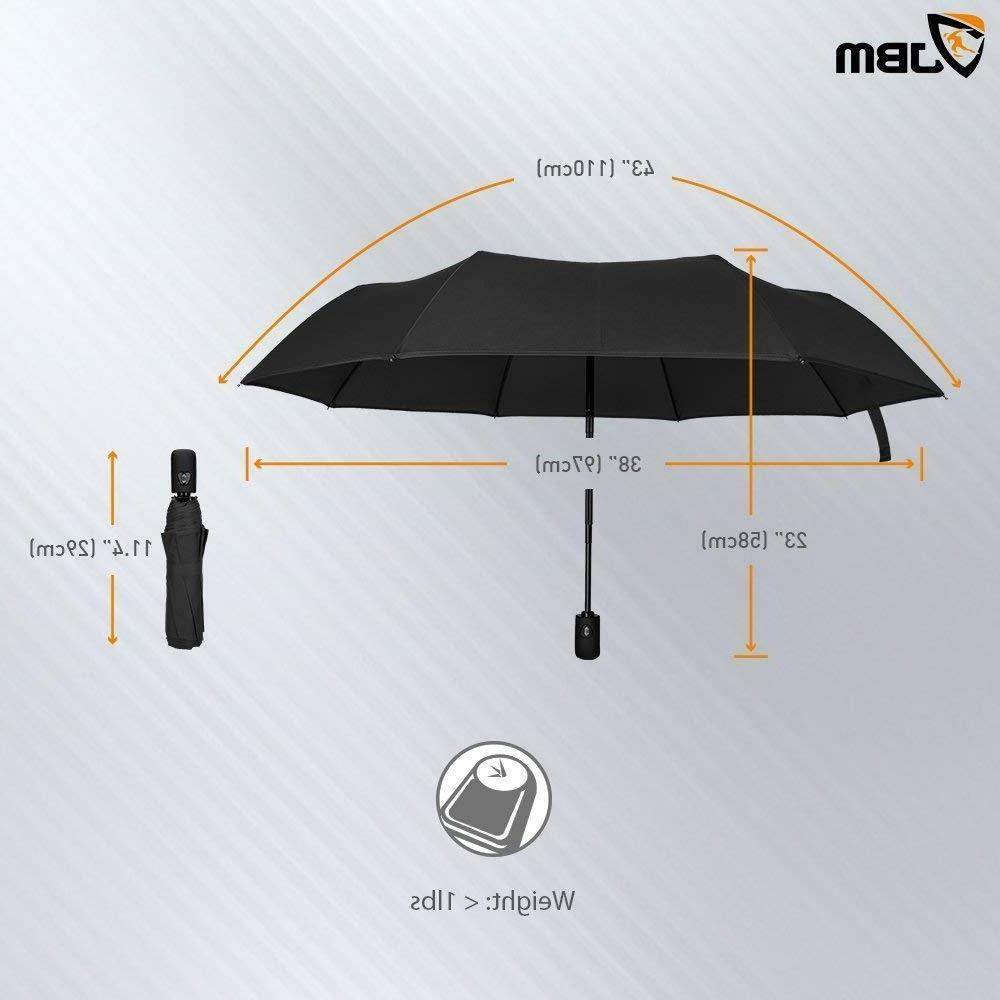 Golf Umbrella Double Canopy Automatic Open - Storm